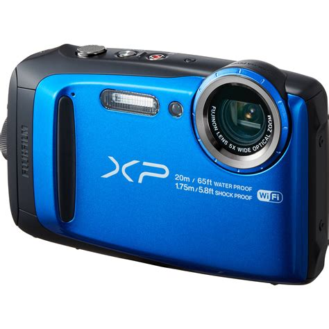 digital finepix fujifilm finepix xp120 digital blue 16543860 b h