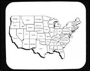 black and white map united states of america pictures to