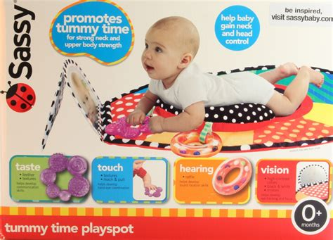 Sassy Tummy Time Mat sassy tummy time mat delivery is free ebay
