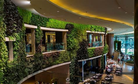 mall vertical gardens greenroofscom