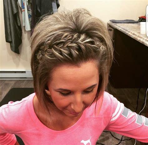 pin upsfor bob braids short bob bridesmaid hair my style pinterest bob