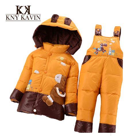 Mantel Jaket Baju Dingin Anak Pony baru 2015 musim dingin anak anak set pakaian bebek jaket