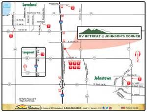 rv parks colorado map location jc rv retreat johnstown colorado