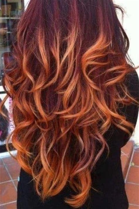 burgundy  blonde hair colors  hairstyles