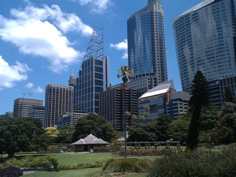 Botanic Gardens View Royal Botanic Gardens View Sydney Travelling