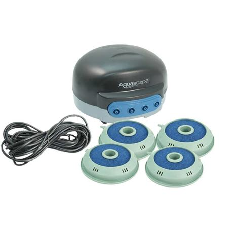 aquascape pond aerator aquascape 4 outlet pond aerator small pond aeration kits