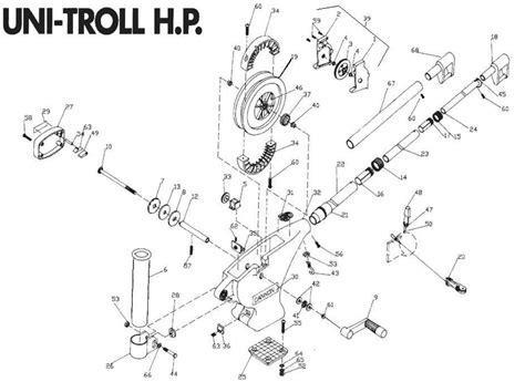 scotty downrigger parts diagram scotty downriggers 1117