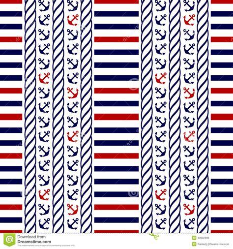 nautical pattern vector free nautical seamless pattern vector illustration stock