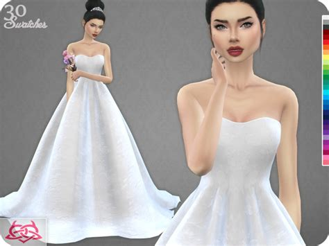 wedding dress 7 recolor 1 by colores urbanos at tsr 187 sims