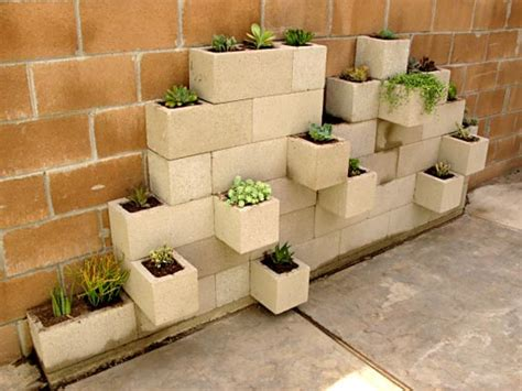 Diy Cinder Block Planter rethinking concrete 5 cinder block diy projects handmadeology
