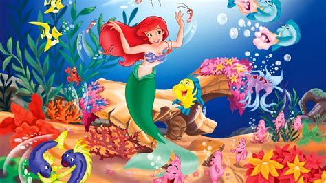 disney mermaid wallpaper disney the little mermaid wallpapers hd wallpapers id
