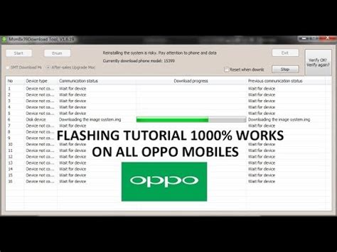 tutorial flash oppo r1 how to flash oppo mobiles tutorial flash all oppo