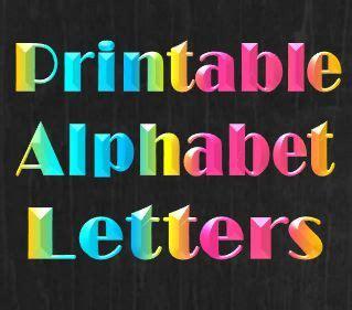 printable letters website printable alphabet letters templates stencils that
