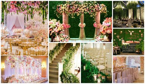 themed wedding decor wedding decor garden theme for stages themed with simple
