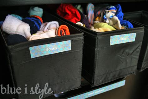 Armoir Socks by Organizing With Style Armoire Baby Central Blue I Style