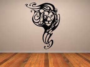 Animals Wall Stickers Lion Tribal Animals Wall Stickers Wall Art Decals