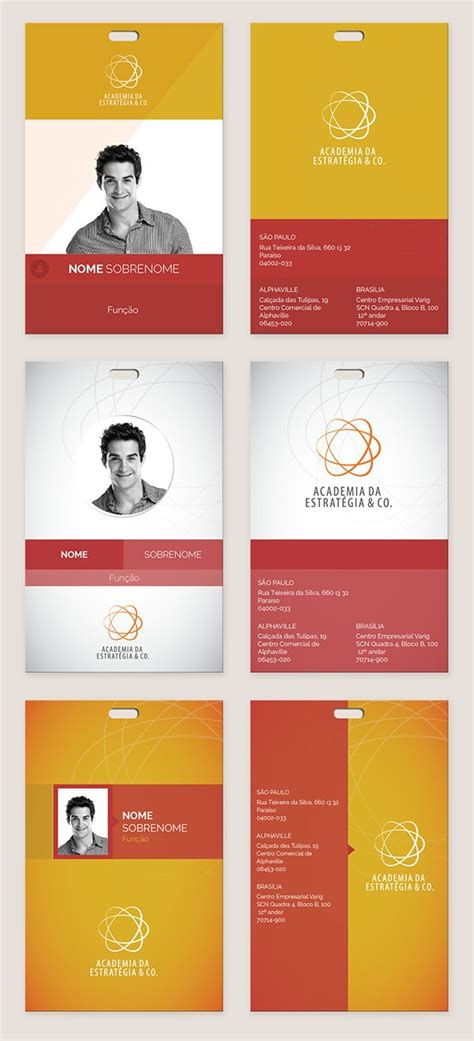 employee id card template free behance 25 best id card images on business cards