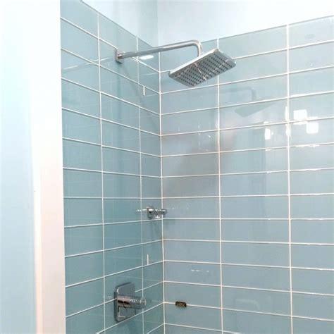 Bathroom Glass Tile Ideas by Tiles Glass Subway Tile Shower Ideas Glass Tile Shower