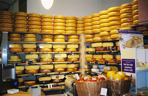 Spesial Cheese free a special cheese shop in amsterdam stock photo