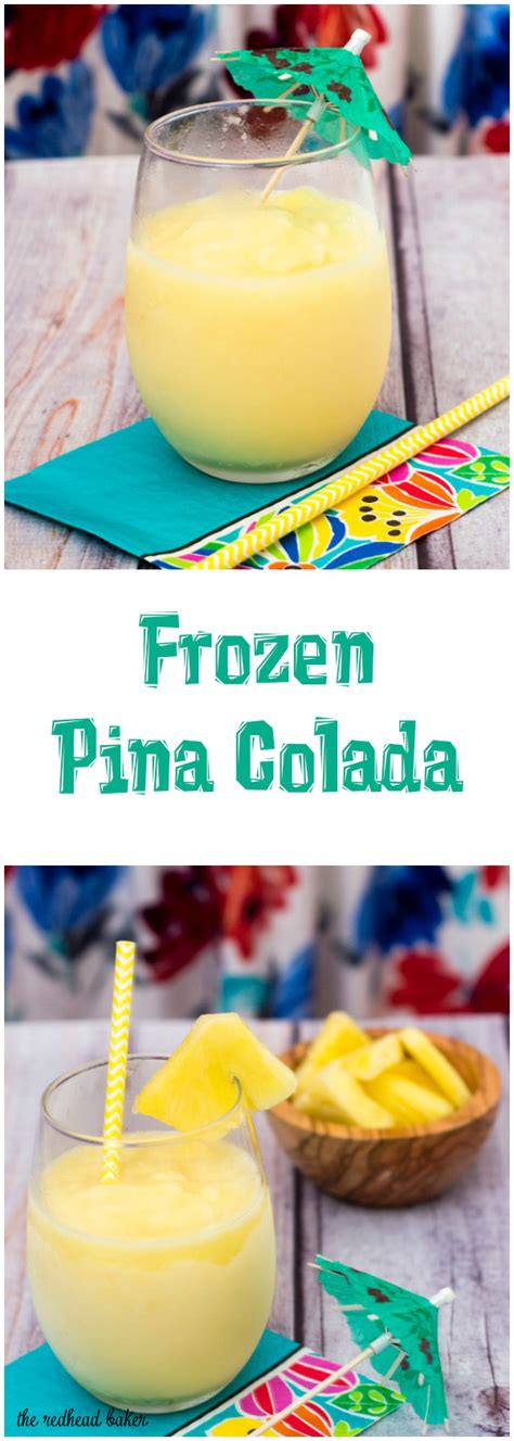 frozen pina colada sundaysupper by the redhead baker epicurious community table