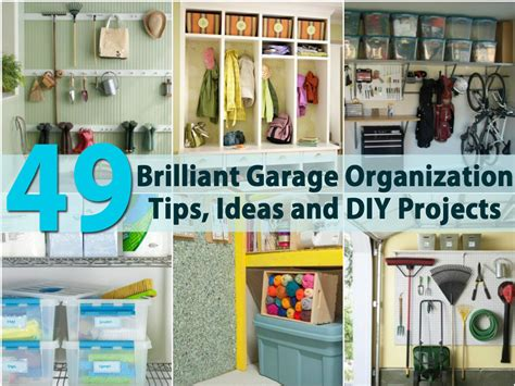 diy organization ideas 49 brilliant garage organization tips ideas and diy