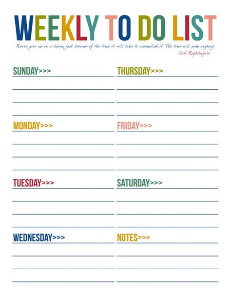 printable daily to do list template to do list free printables free printable free and