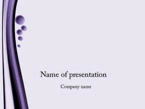 template slide powerpoint free violet bubbles powerpoint template for