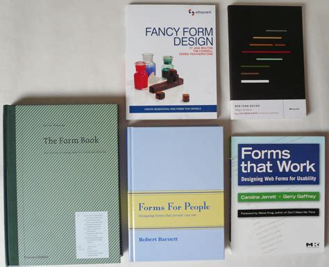 form design book the top 5 books about form design uxmatters