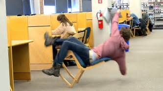 Falling Out Of Chair by Falling Out Of Chairs
