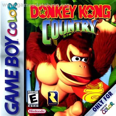 kong country gameboy color kong country nintendo boy color database