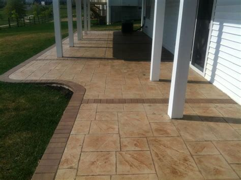 sted concrete patio new jersey masonry contractor
