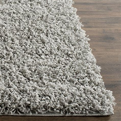 10 Foot By 14 Foot Area Rugs - safavieh athens shag collection sga119f light grey area