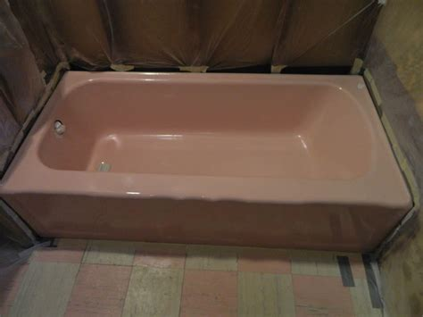 pink bathtub bathroom colors paint vintage bathtub interior design