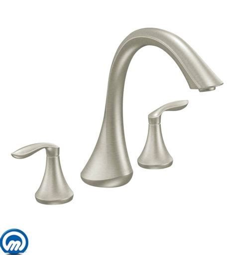 moen t943 chrome deck mounted tub faucet trim from