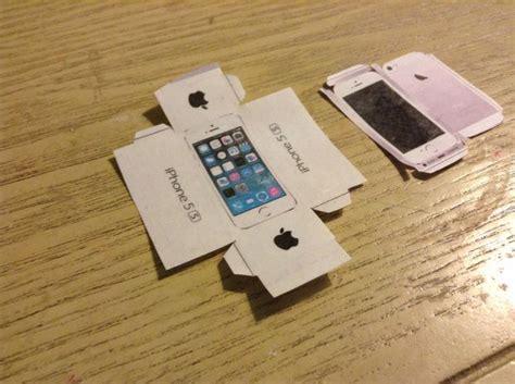 Iphone 5 Papercraft - iphone 5s papercraft 3
