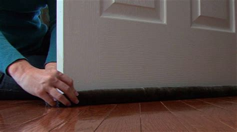 Bedroom Door Bottom Seal How To Weatherstrip Your Doors Monkeysee