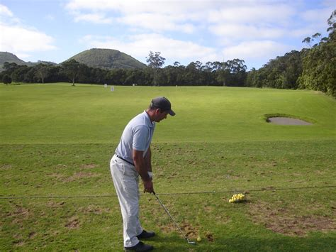 too handsy golf swing hit the ball with your quot chest quot golf talk the sand