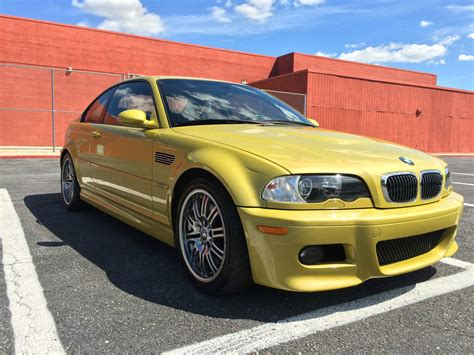 sub 40k yellow e46 bmw m3 for sale