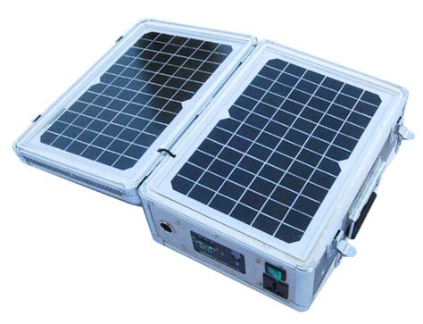 portable solar powered generator solar generator