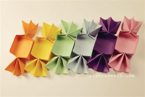 Sweet Origami - sweet origami box tutorial paper kawaii
