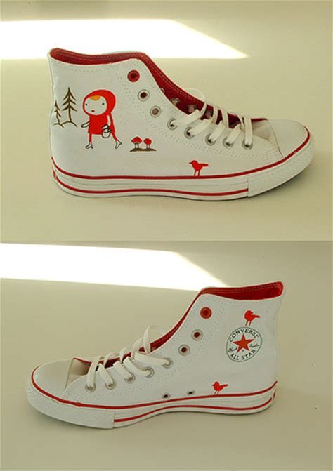 How To Decorate Your Converse by Swissmiss Camilla Engman Converse