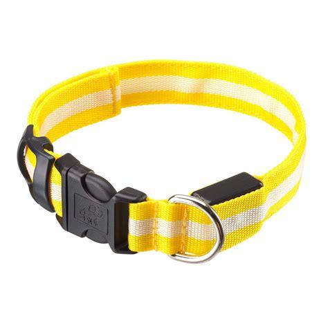 led leash artis light up safety led collar leash ebay