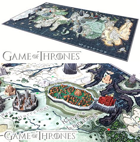 map layout for game of thrones game of thrones map puzzle set down our deeds technabob