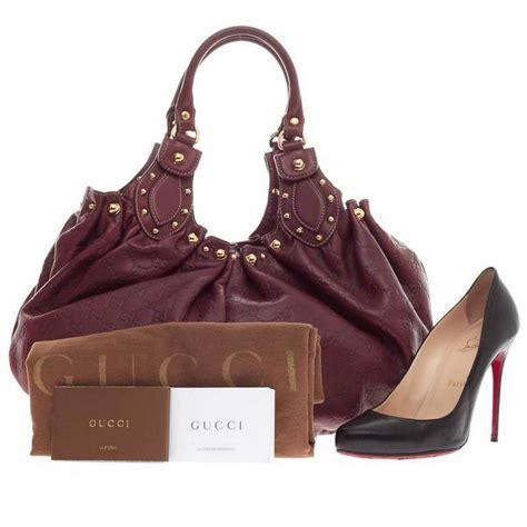 Gucci Emboss Sling Bag Medium Semi Premium gucci pelham shoulder bag studded guccissima leather medium at 1stdibs