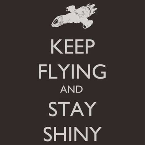 Daily Roundup Shiny Shiny by Keep Flying And Stay Shiny Tshirt