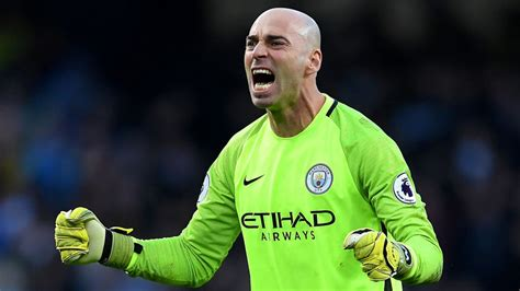Willy Caballero Willy Caballero Says City Made Pep Guardiola Proud