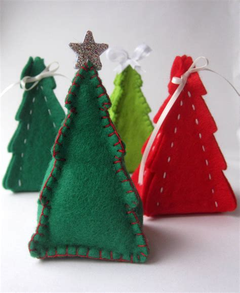pdf pattern christmas tree gift box ornament sewing