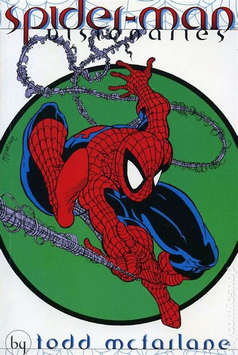 libro spider man by todd mcfarlane comic books in spider man visionaries legends