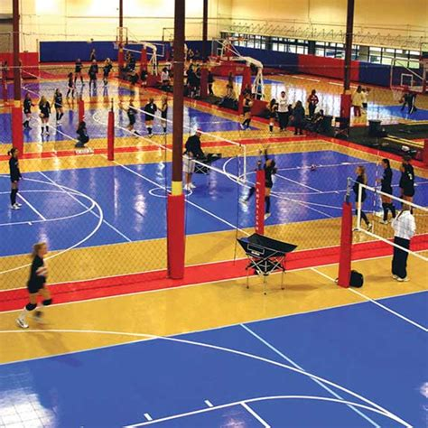 Karpet Volly products indoor outdoor athletic surfaces sport court west