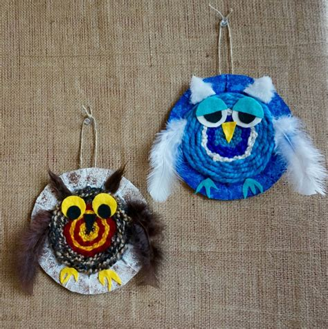 owl craft projects woven owl craft crafts